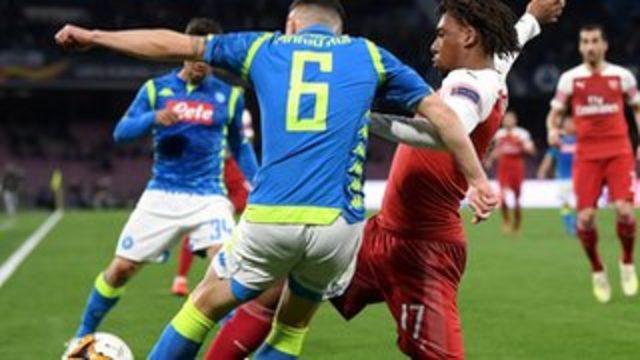 Napoli Arsenal'e elendi, 'Gomorra' çağrışımlı paylaşım İtalya'da polemiğe neden oldu