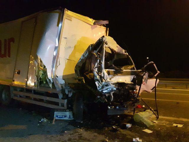 TEM Otoyolu'nda trafik kazası: 1 ağır yaralı