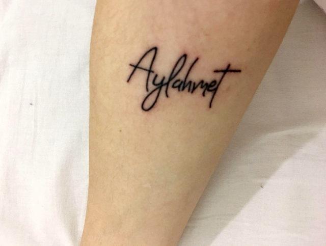Buse koluna dövme yaptırıp, 'Kaybolursam buradan bulursunuz' demiş