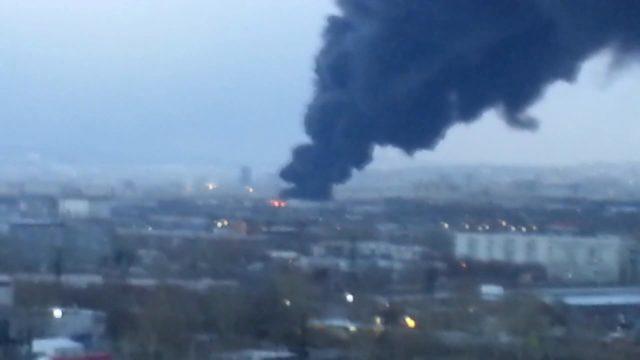 Rusya'da balistik füze fabrikasının deposu yandı