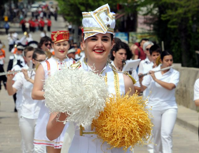 Edirne'nin ciğer festivali rengarenk