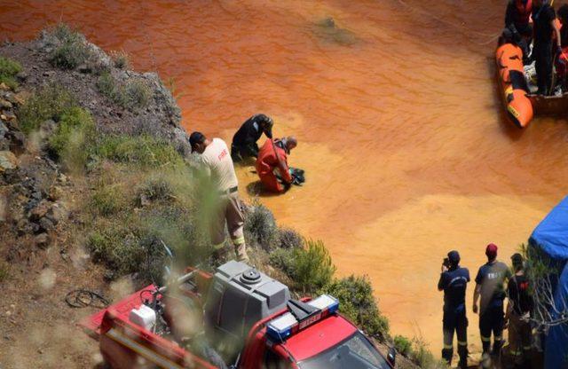 Kırmızı Göl'de içinde insan kemiklerin olduğu bir bavul daha bulundu