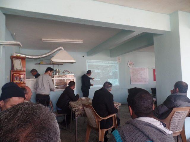 Turnaçayırı Barajı yapımı ile ilgili olarak bilgilendirme toplantısı düzenlendi