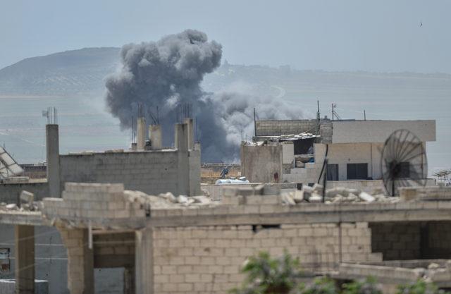 Saldırıların sürdüğü İdlib, harabeye döndü (2)