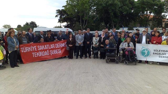 Tekirdağ'da Engelliler Haftası