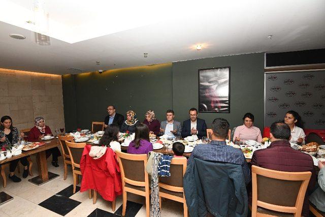 Kaymakam Türkmen'den kurum amirlerine iftar yemeği