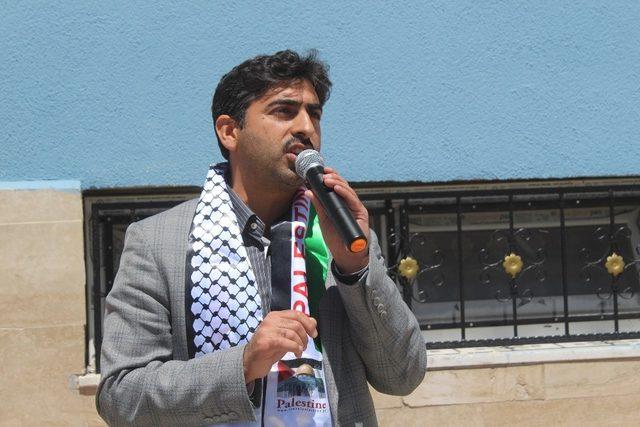 Vanlı lise öğrencileri İsrail işgalini kınadı