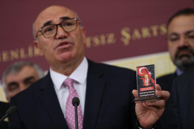 CHP'li Tanal: Terör örgütü bağlantılı kişiler, kesici ve delici aletle makamıma kadar girebiliyormuş