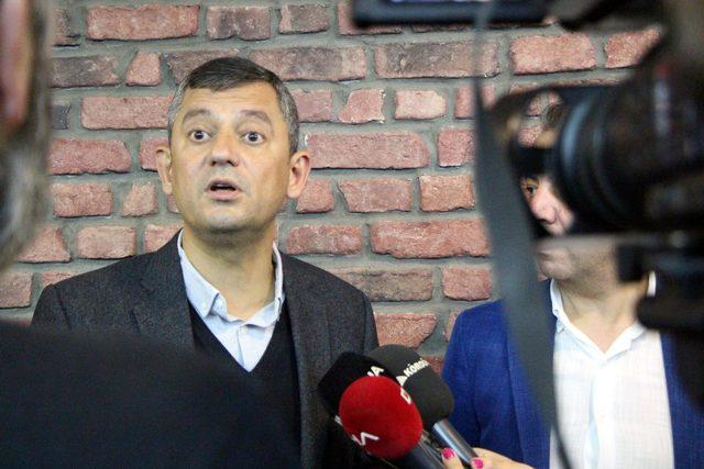 CHP'li Özel: Mahmut Tanal'ın hedef seçilmesi manidar