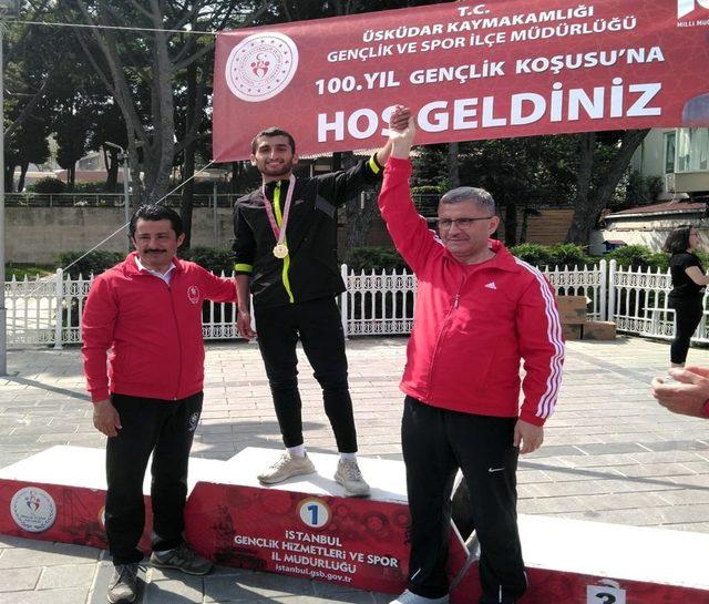 100. Yıl Gençlik Koşusu Yarışlarının şampiyonu Ümraniye