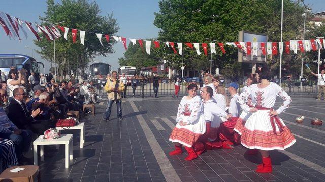 Uluslararası Engelliler Halk Oyunları Festivali başladı