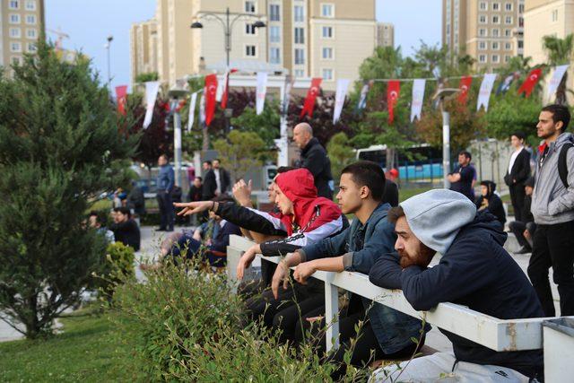 Ataşehir'de Euroleague Final Four'da Türk derbisi heyecanı yaşandı