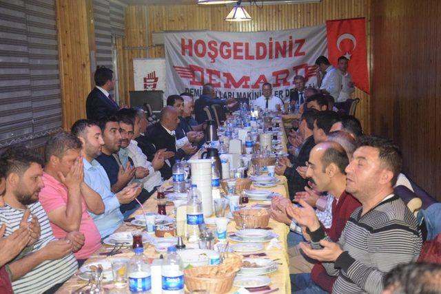 DEMARD'dan iftar programı