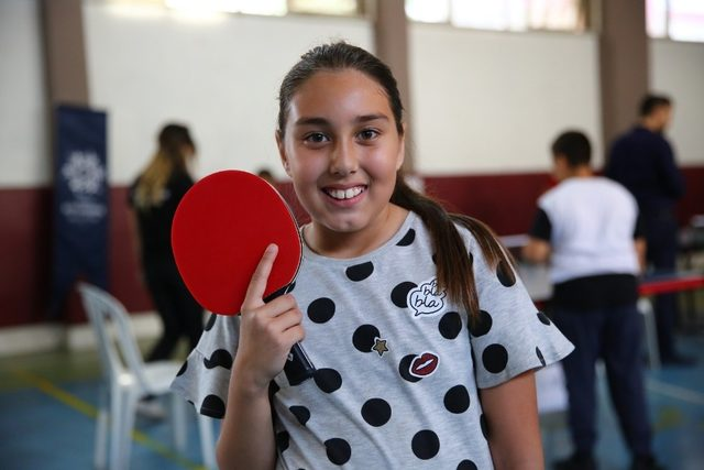 Büyükşehir Kültür Merkezleri'nde masa tenisi heyecanı yaşandı