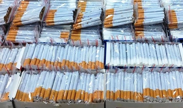 Nazilli'de kaçak sigara operasyonu