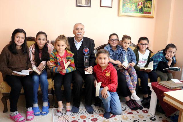 Köyüne kütüphane kurdu, 'İyi Kalpli Ol' ödülünü aldı