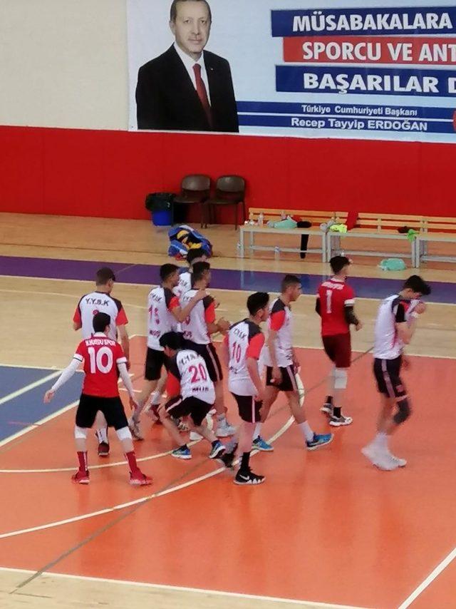 Muş yetiştirme yurdu spor kulübü Türkiye finallerinde