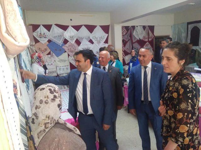 Daday'da 'El Emeği Göz Nuru' ürünler görücüye çıktı