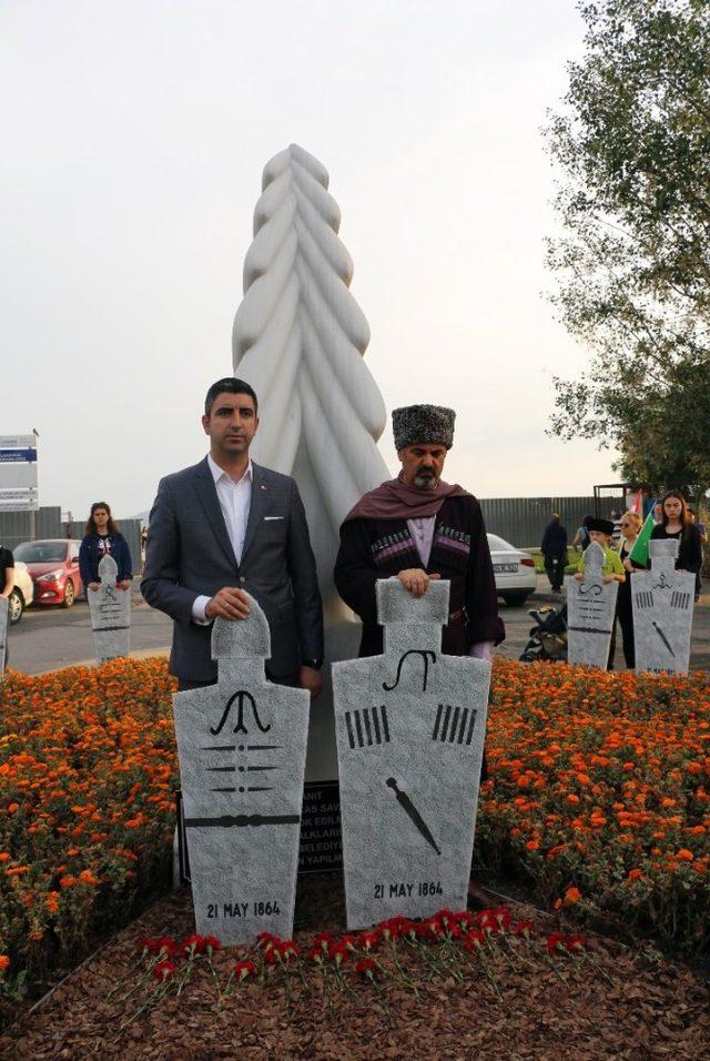 Çerkes Sürgününde hayatını kaybedenler, Kartal'da anıldı