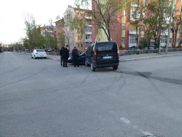 Erzurum'da trafik kazası: 1 yaralı