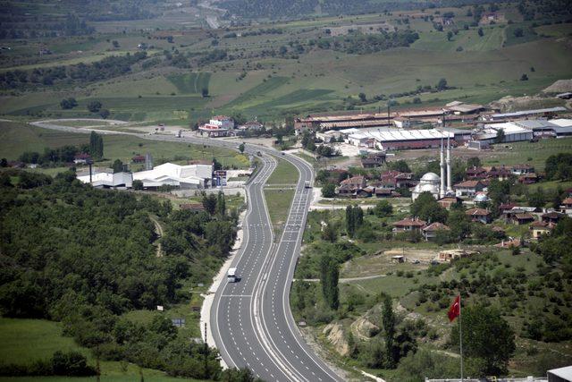 Kastamonu'da helikopterli trafik denetimi