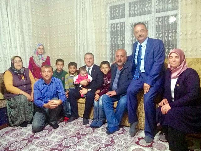 CHP'li Emir, Kılıçdaroğlu'nun sığındığı evde iftar yaptı