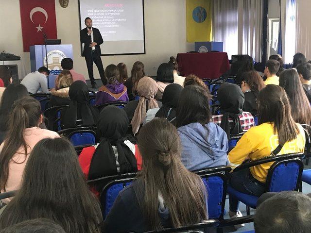 Keşan Meslek Yüksekokulunda 'Kariyer günleri' düzenlendi