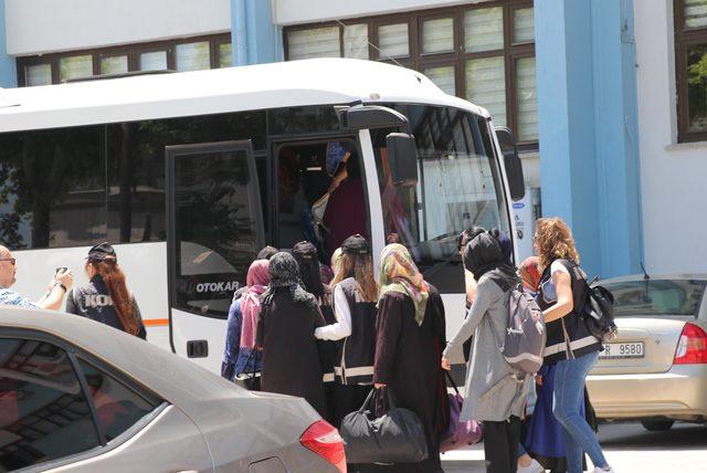 Denizli'de 'ByLock' şüphelisi 20 kişi adliyede