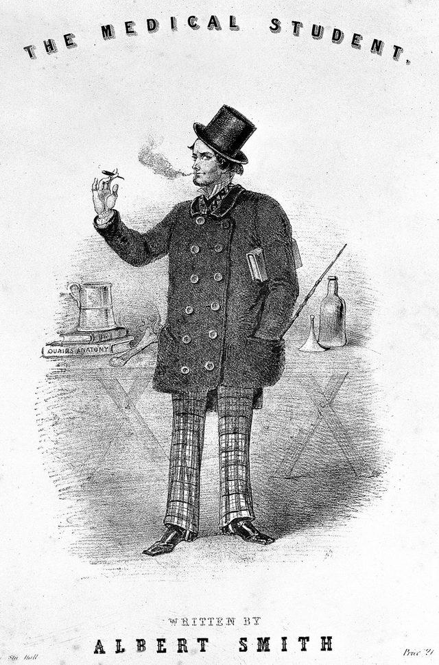 19. yüzyılda anatomi çalışan doktorlar, kadavra kokusunu yok etmesi için sigara içiyordu.