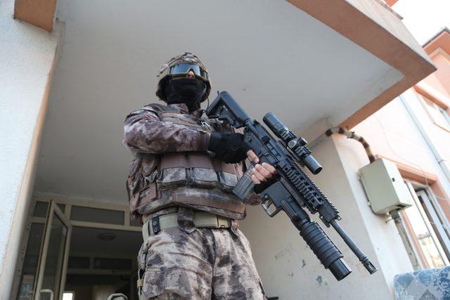 Bursa'daki uyuşturucu operasyonunda 35 tutuklama