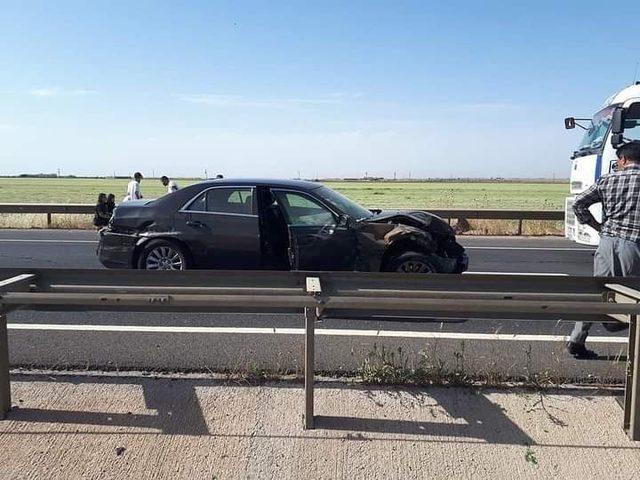 Viranşehir'de kaza: 2 yaralı