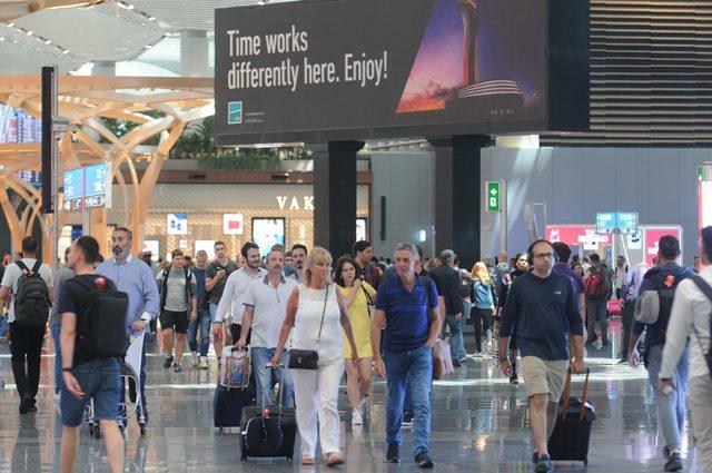 İstanbul'a 4 ayda en çok ve en az gelen turist sıralaması da belli oldu