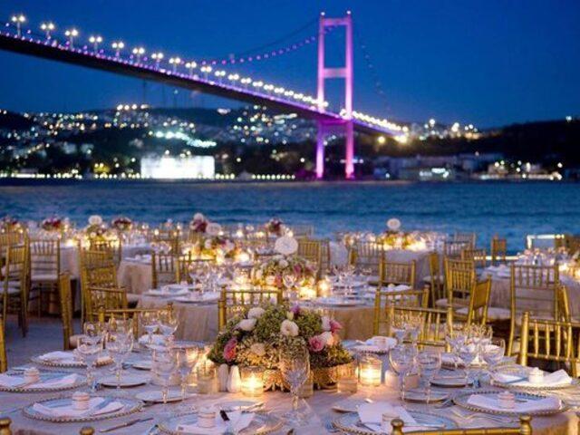 İstanbullu Zenginlerin Gözde Düğün Lokasyonları ve Dudak Uçuklatan Paket Fiyatları