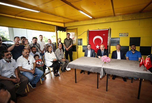 İçişleri Bakanı Soylu, İstanbul'da