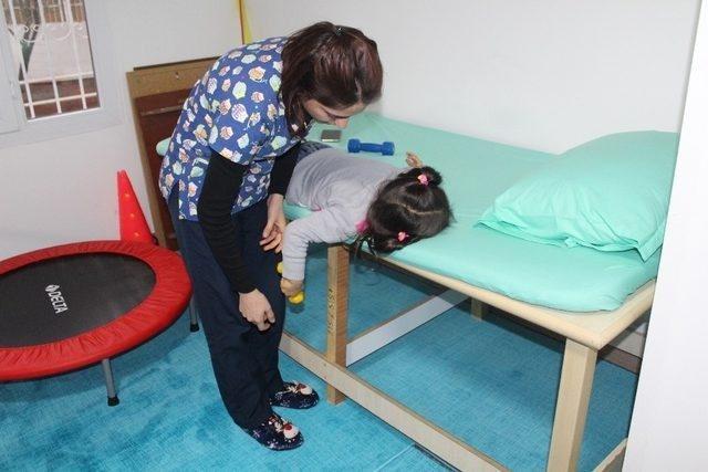 Elif Hanım Rehabilitasyon Merkezi, engellilere umut ışığı oluyor