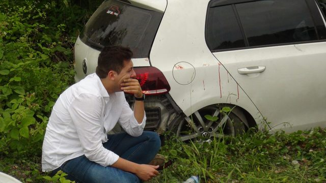 Zonguldak'taki iki ayrı kazada 5 kişi yaralandı