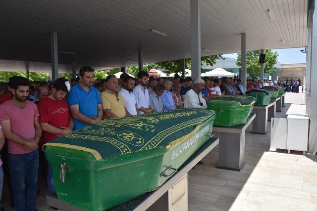 Kazada ölen kulüp başkanı ile kadın memur, toprağa verildi