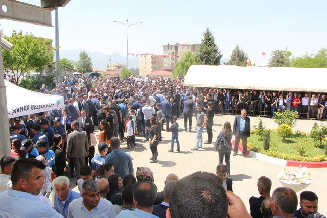 Bakan Soylu, Kato'da Mehmetçikle bayramlaştı (4)