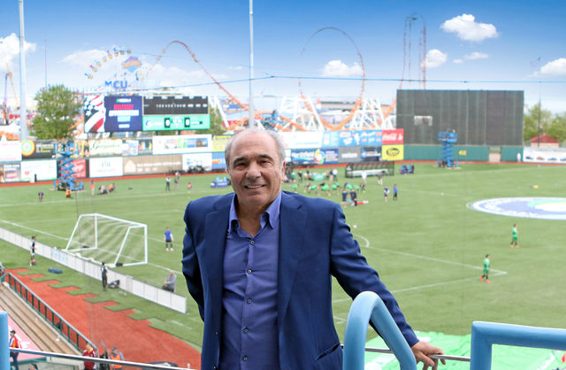Rocco at MCU Park on 5-27-17