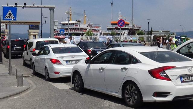 Çanakkale'de tatilcilerin dönüş yoğunluğu
