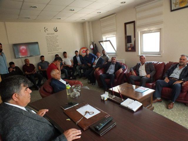 MHP Malazgirt ilçe teşkilatında bayramlaşma töreni