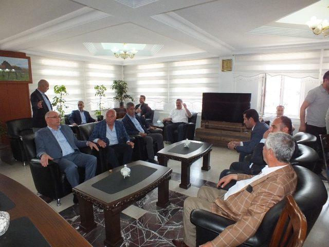 Malazgirt Belediyesinde bayramlaşma töreni düzenlendi