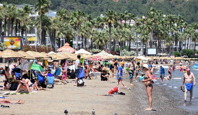 Marmaris, bayramda 1 milyon tatilciyi ağırladı