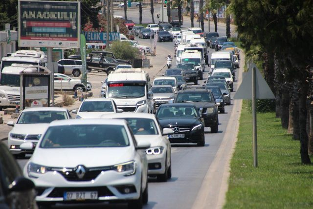 Bodrum'da tatilcilerin dönüş yolculuğu başladı