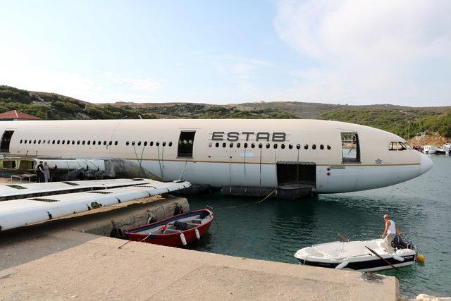 Dev yolcu uçağı, Cuma günü Saros Körfezi'ne batırılacak