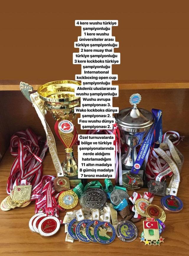 Trabzon'da milli sporcunun madalyaları çalındı