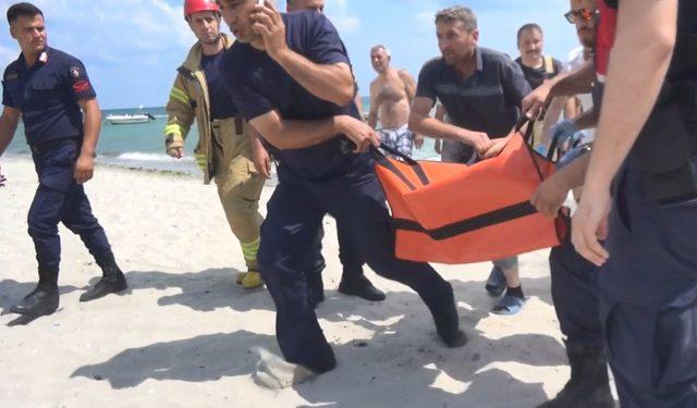 Silivri'de boğulma tehlikesi geçiren çocuk kurtarıldı