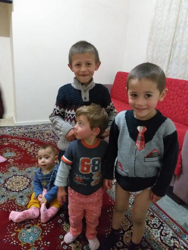 'Gelişme geriliği' yaşayan 4 kardeş, bakım altına alındı