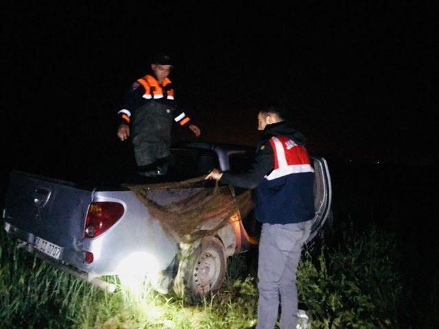 Jandarmanın kaçak avcılarla mücadelesi