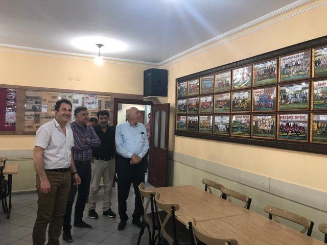 İrfan Kartal'dan İstanbul'daki Vanlılara ziyaret